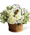 Enchanting Gardens Sympathy Basket
