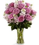 Lavender Serenity Sympathy Bouquet
